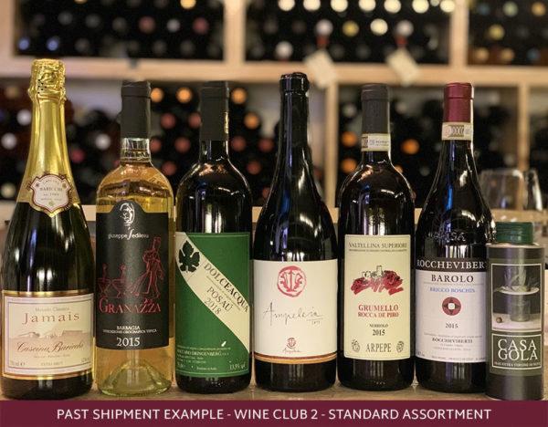 Roscioli Italian wine club 2 standard assortment