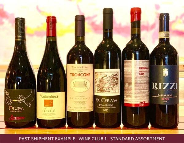6 Italian wines from the roscioli wine club
