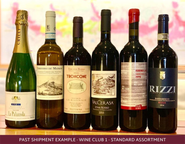6 bottles from the roscioli wine club